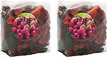 Ikea Dofta, potpourri di bacche rosse da giardino,