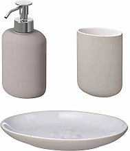 Ikea EKOLN - Set da bagno per spazzolino da denti,