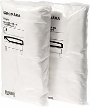 Ikea FARGMARA - Set di 2 lenzuola per letto