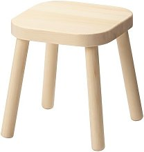 Ikea Flisat, sgabello per bambini in legno