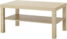 Ikea Lack - Tavolino basso, effetto betulla