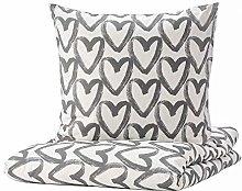 Ikea LYKTFIBBLA - Set di biancheria da letto con
