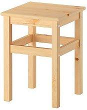 IKEA Oddvar - Sgabello in legno di pino massiccio,