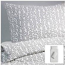 Ikea - Set di biancheria da letto Krakris, 140 x