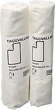 Ikea TAGGVALLMO Basic - Set di 2 lenzuola con