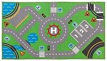 Ikea, tappeto da gioco per bambini, 75 x 133 cm,