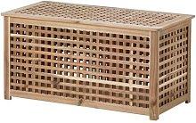 Ikea - Tavolino contenitore Hol, in legno di