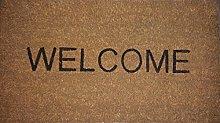 Ikea Trampa Welcome zerbino, 40cmx70cm,