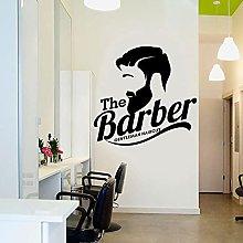 Il barbiere decalcomanie della parete di arte del