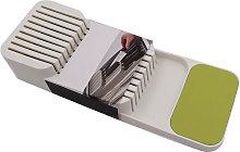Il blocco portacoltelli nel cassetto contiene un