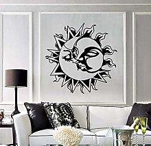 Il Sole Bacia La Luna Amore Adesivi Murali
