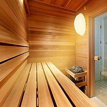 Illuminazione per sauna resistente