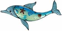 Illustrazione della Parete del Delfino Blu del