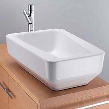 Imagine lavabo appoggio cm 61x43x21 di altezza