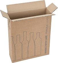 Imballaggio bottiglie per spedizioni Confez. da 20
