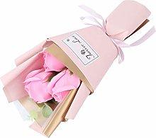 IMIKEYA Sapone Profumato di Rosa Bouquet di Fiori
