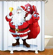 Impermeabile enda da Doccia Babbo Natale Tende da