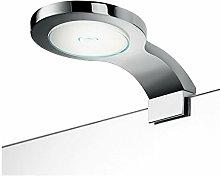 INDA AV0L2ECR Lampada Bordo Specchio a LED, Argento