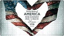 Independence Day - Tappeto da bagno antiscivolo,