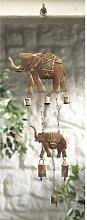 India Scacciapensieri, con elefante e sonagli