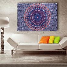 Indiano arazzo appeso a parete mandala hippie