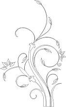 Indigos UG W310 Tatuaggio Murale Adesivo da