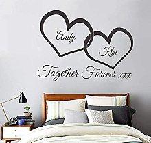 Insieme per sempre intrecciato Amore Cuori