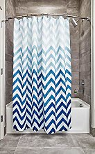 InterDesign - Tenda da doccia,Multi-color blu,183