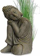 INtrenDU® Buddha Scultura Carattere Statua cm 43