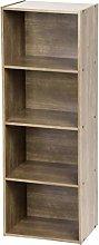 Iris Ohyama Basic Storage Shelf CX-4 Mobile