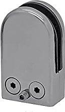 Irondo® Morsetti per vetro, per bagno, doccia,