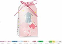 irpot 20 Scatoline portaconfetti Tag Dumbo Disney