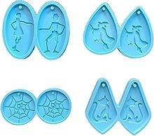 IRYNA - Stampo in silicone per Halloween e