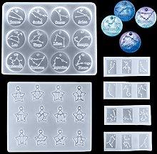 iSuperb 12 costellazioni Stampi per Resina, Stampo