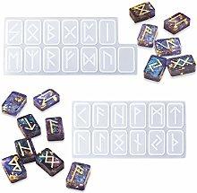 iSuperb 2PCS Simbolo di Energia Runes Stampi per