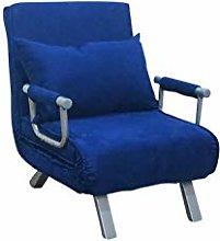 ITALFROM Divano Letto Sofa Bed Blu 65x69x82h