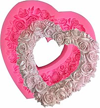 Itlovely - Stampo in silicone 3D a forma di cuore