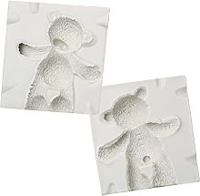 Itlovely - Stampo in silicone a forma di orso 3D,