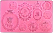 Itlovely - Stampo in silicone per torte e fondente