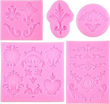 Itlovely - Stampo in silicone stile barocco, per