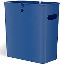 iTouchless Open Storage bin, Plastic, Blue, 4.2