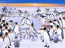 ITPDJKE 5D Pittura Diamante DIY Pinguino Pieno