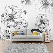IWJAI murale decorazione Arte moda piante fiori