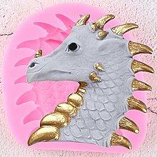 JACKWS 3 Pezzi di Uova di Dinosauro Stampo in