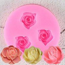 JACKWS 3D Rose Flowers Chocolate Wedding Cake