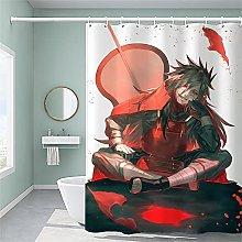 Japan Anime Naruto Bagno Tenda da Doccia Tende da