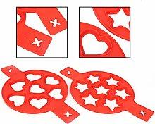 Jeanoko - Stampo da forno a forma di cuore, 2