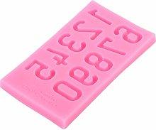 Jeanoko - Stampo per torta a forma di numero,