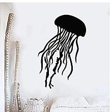 Jellyfish nautical Animal Vinyl Wall Sticker