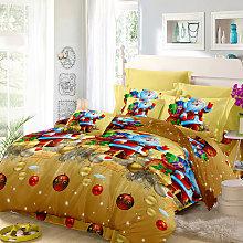 Jessy Home - Set biancheria da letto natalizia